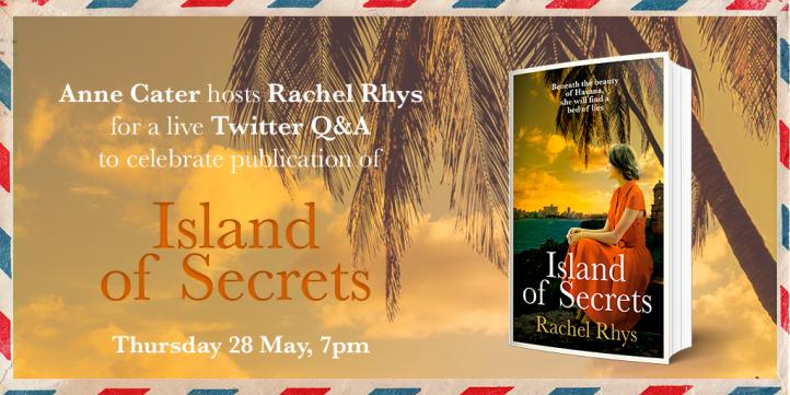 Twitter Q+A Rachel Rhys